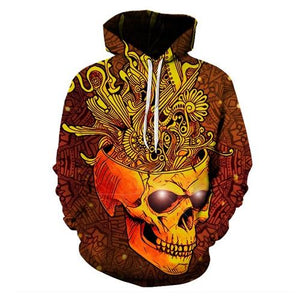 The Mighty Skull Hoodies hoodies The Mighty Skull ™ OPEN MIND SKULL 4XL
