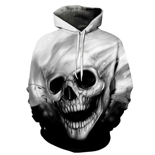 The Mighty Skull Hoodies hoodies The Mighty Skull ™ THE MIGHTY SKULL 4XL