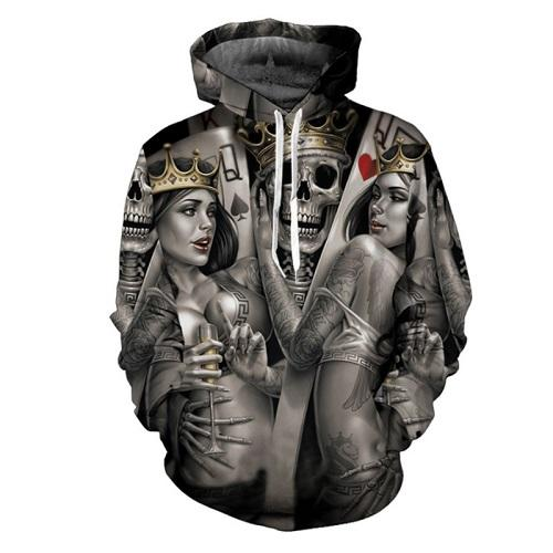 The Mighty Skull Hoodies hoodies The Mighty Skull ™ GIRLS SKULL 4XL