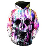 The Mighty Skull Hoodies hoodies The Mighty Skull ™ YELLING SKULL S