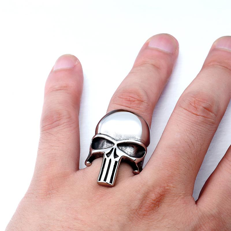 Skull punisher Ring ring The Mighty Skull ™