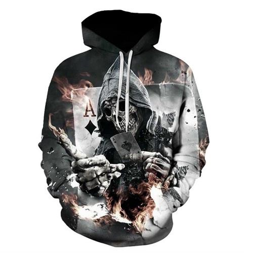 Poker Skull Hoodies hoodies The Mighty Skull ™