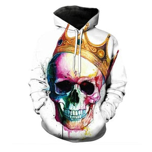 Skulls King Hoodies hoodies The Mighty Skull ™