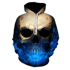 Dark Skull Hoodies hoodies The Mighty Skull ™