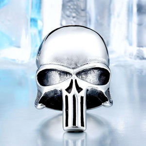 Skull punisher Ring ring The Mighty Skull ™ 7 CLEAR
