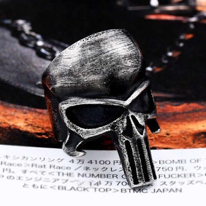 Skull punisher Ring ring The Mighty Skull ™ 6.5 MATTE
