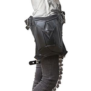 Biker Waist Leather Leg Bag The Mighty Skull ™ Classic