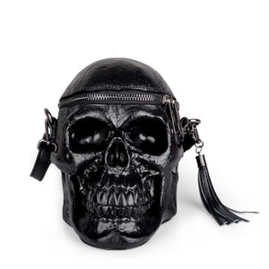Gothic Retro Leather Bag The Mighty Skull ™