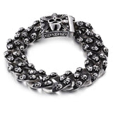 Heavy Punk Skull Bracelet bracelet The Mighty Skull ™ Default Title