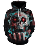 Novelty Hip-Hop Skull Hoodies The Mighty Skull ™ 10 S