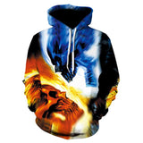 Novelty Hip-Hop Skull Hoodies The Mighty Skull ™