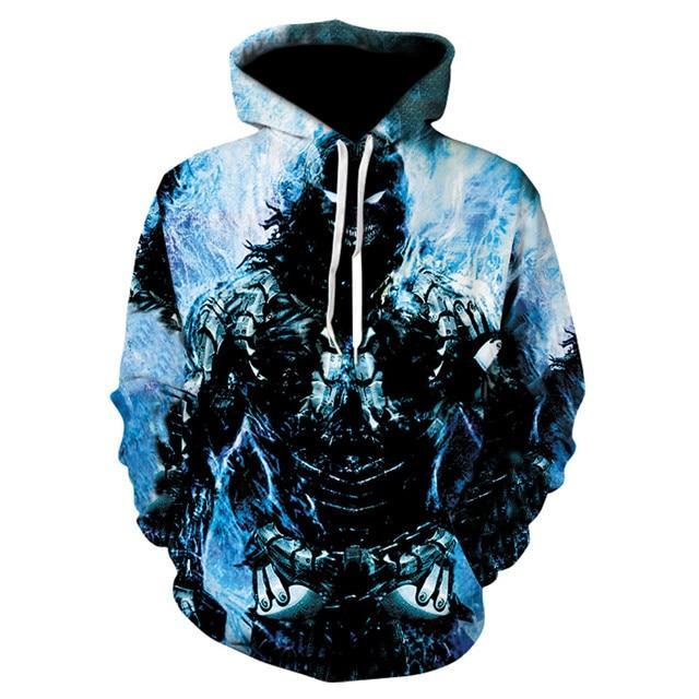 Novelty Hip-Hop Skull Hoodies The Mighty Skull ™ 21 S
