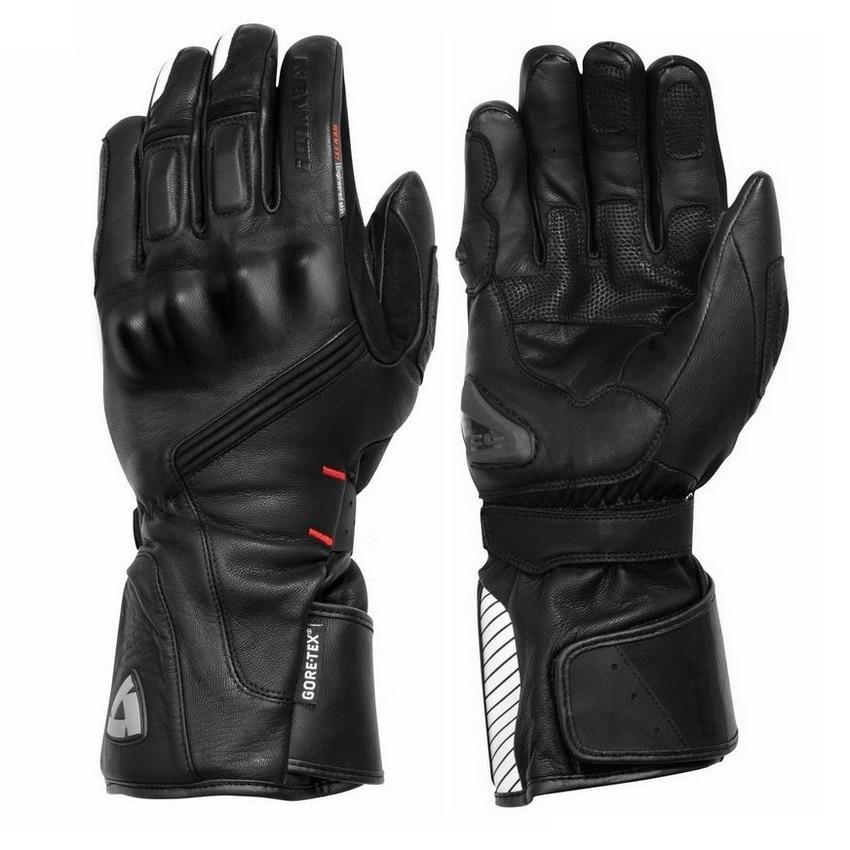 Biker's Genuine Leather Gloves The Mighty Skull ™
