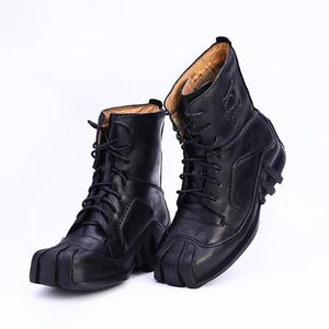 Skull Genuine Leather Boots The Mighty Skull ™ Black 7