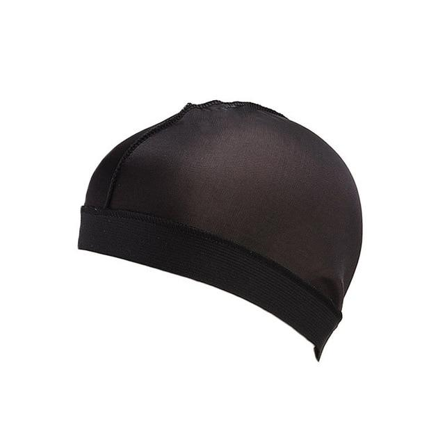 Biker's Silky Dome Cap The Mighty Skull ™ Black Size Fits All