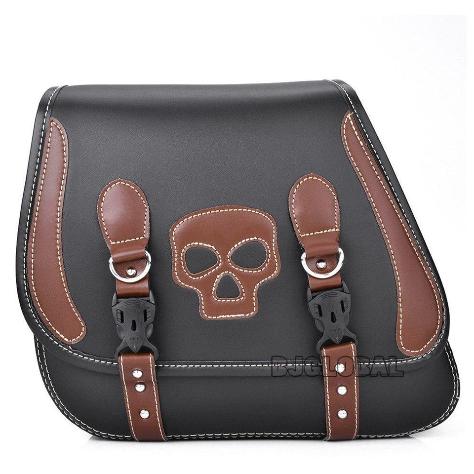 Motorcycle Leather Skull Storage Bag The Mighty Skull ™