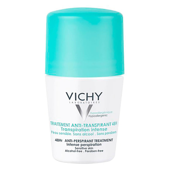 Vichy: 48Hr Roll-on Deodorant Intensive Anti-Perspirant [French Import]