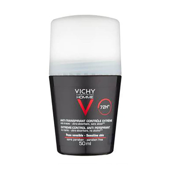 Vichy: Homme 72Hr Roll-On Deodorant Anti-Perspirant [French Import]