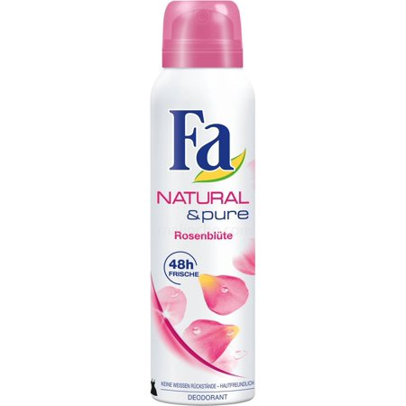Fa: Deodorant Spray Natural & Pure 48H - Rosenblute