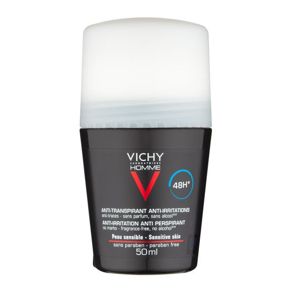 Vichy: Homme 48Hr Roll-On Deodorant Anti-Irritation Anti-Perspirant [French Import]
