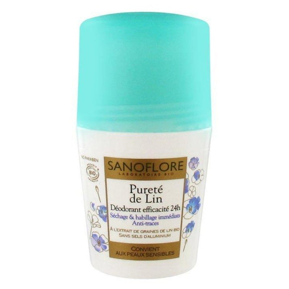 Sanoflore: 24Hr Deodorant Pureté de Lin [French Import]
