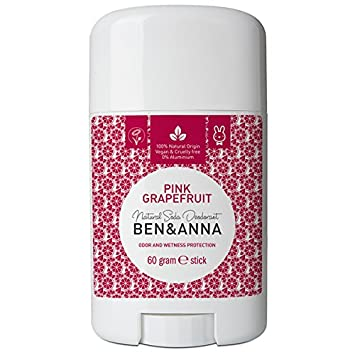 Ben & Anna: Pink Grapefruit Natural Deodorant Stick