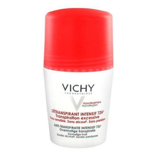 Vichy: 72Hr Roll-on Deodorant Intensive Anti-Perspirant [French Import]