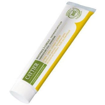 Cattier: Dentargile Toothpaste with Lemon