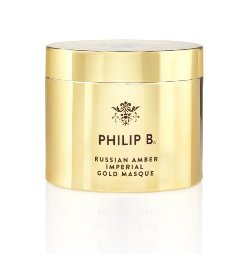 Philip B: Russian Amber Imperial Gold Masque