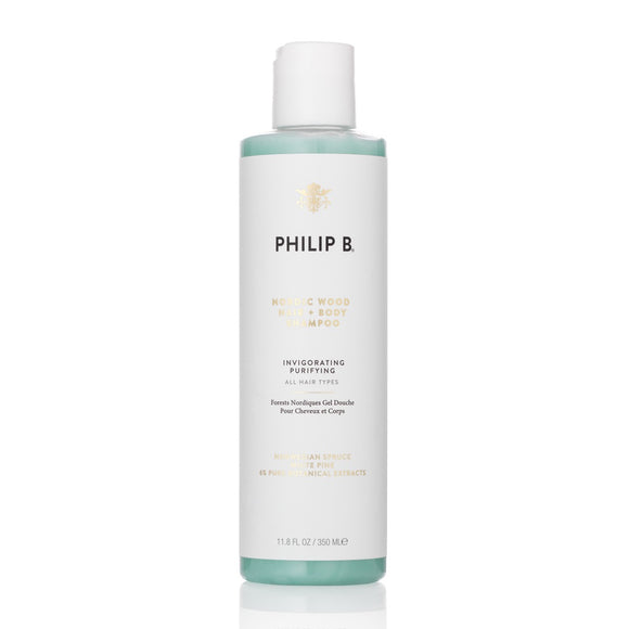 Philip B Nordic Wood Hair  Body Shampoo