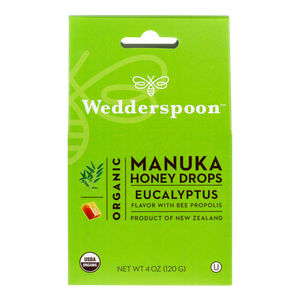 Wedderspoon: Organic Manuka Honey Lozenges - Eucalyptus