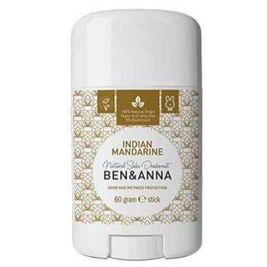 Ben & Anna: Indian Mandarine Natural Deodorant Stick