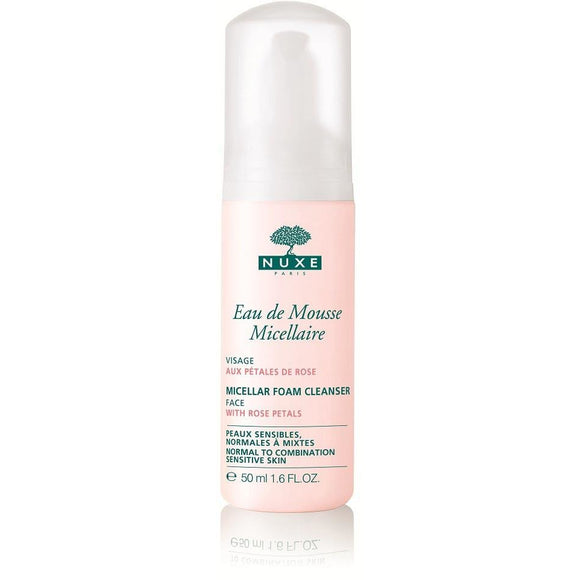 Nuxe: Micellar Foam Cleanser with Rose Petals