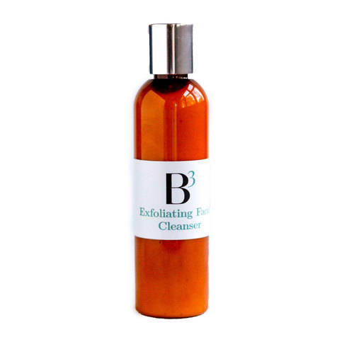 B3 exfoliating cleanser