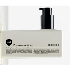 Number 4: Lumiere d'hiver Clarifying Shampoo