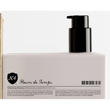 Number 4: Fleurs de Temps Volumizing Shampoo - Travel Size