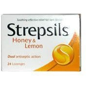 Strepsils: Honey & Lemon