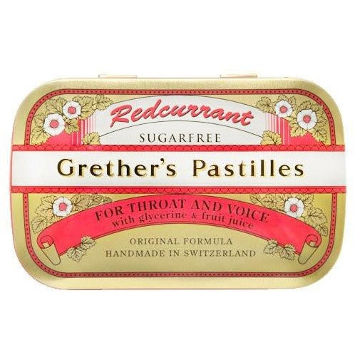 Grether's Pastilles: Red Currant  Pastilles - Small (2.1 oz)