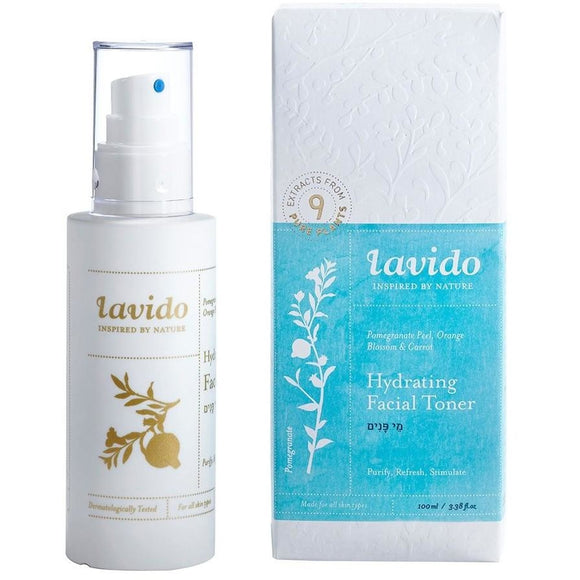 Lavido: Hydrating Facial Toner - Pomegranate Peel Orange Blossom Carrot NEW FORMULA