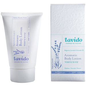 Lavido: Aromatic Body Lotion Bulgarian Lavender & Avocado Oil