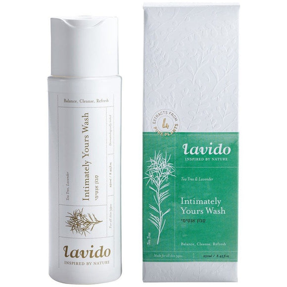 Lavido: Intimately Yours Wash- Tea Tree & Lavender NEW FORMULA