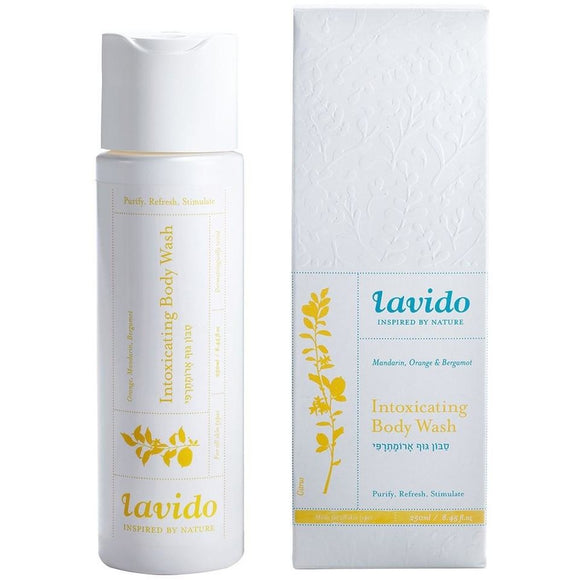 Lavido: Intoxicating Body Wash- Mandarin, Orange & Bergamot  NEW FORMULA