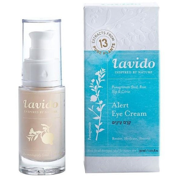 Lavido: Alert Eye Cream -   Pomegranate Seed, Rose Hip, and Citrus NEW FORMULA