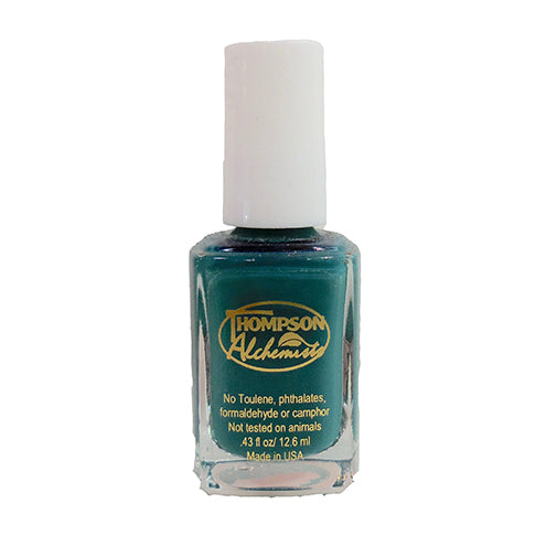 organic nail polish sea green