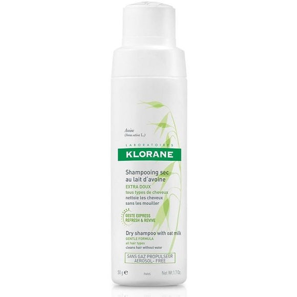 Klorane: Dry Shampoo with Oat Milk: Non-Aerosol Spray