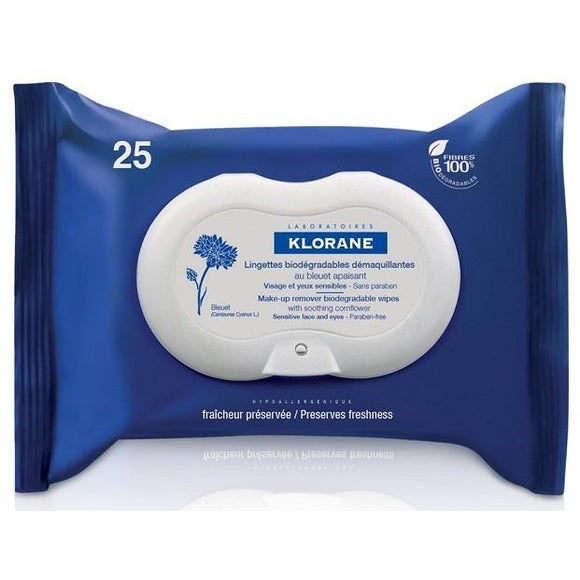 Klorane: Eye Makeup Removal Wipes