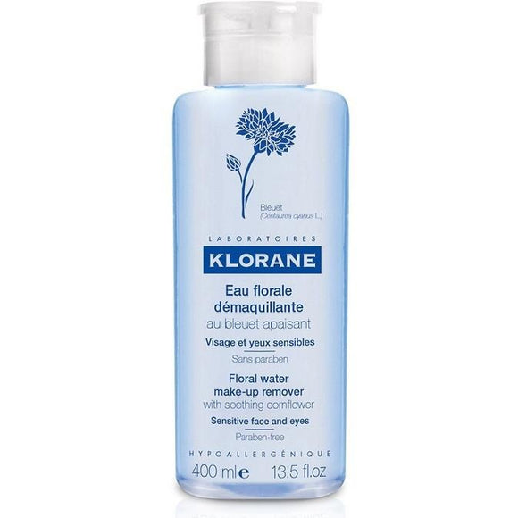 Klorane: Floral water make-up remover with soothing cornflower