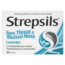 Strepsils: Sore Throat & Blocked Nose