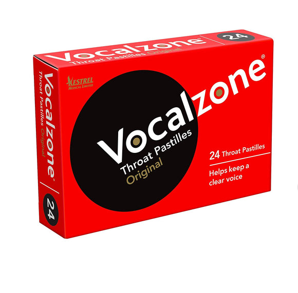 VocalZone Throat Pastille 24ct (UK Import)