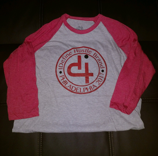 IDH: Iconic Raglan T-Shirt - Red/Grey